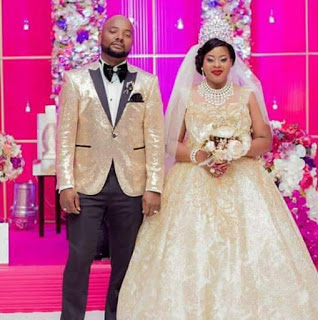 Photos: Couple involved in road accident three weeks after their lavish wedding in Malawi; husband dies on the spot