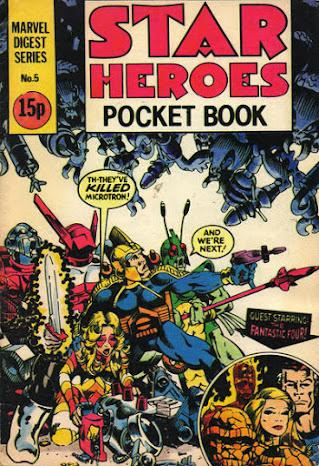 Star Heroes Pocket Book #5, the Micronauts