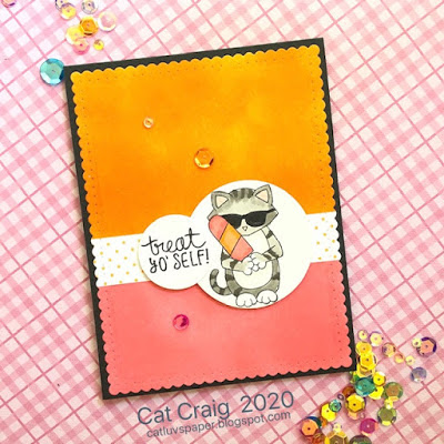 Treat yo' self by Cat Craig features Newton's Summer Treats and Frames & Flags by Newton's Nook Designs; #newtonsnook