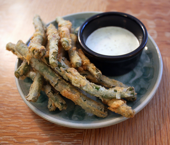 Fried Green Beans with Hatch Chile Aioli (Full and Content)
