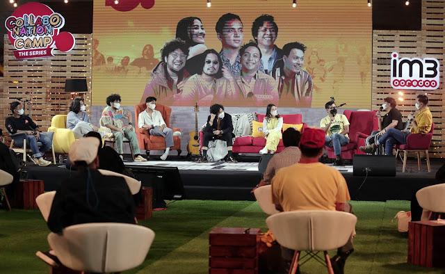"Kolaborasi 7 Musisi dalam Tayangan Perdana ""Collabonation CAMP The Series"""