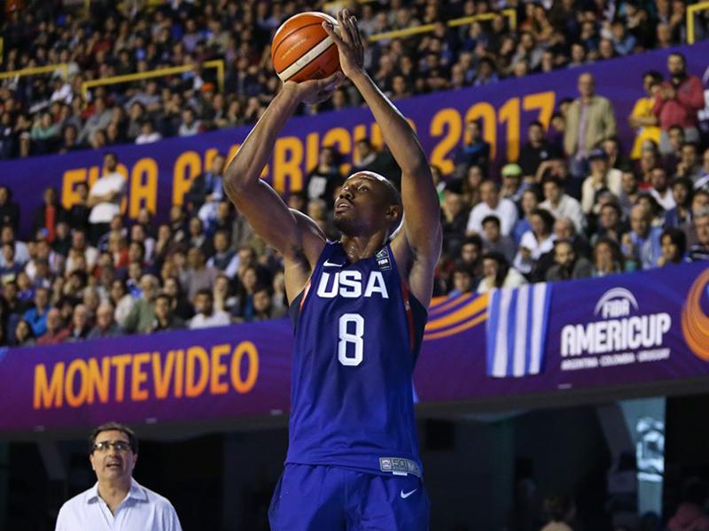 57121d7f2 Estados Unidos define palco da estreia nas Eliminatórias para a Copa do  Mundo de Basquete