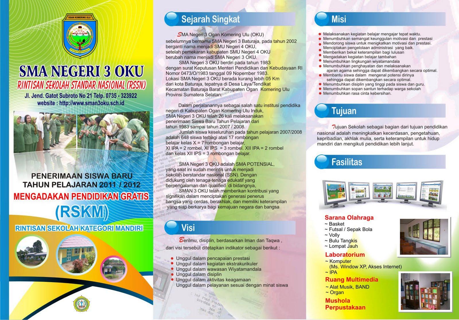 [KREATIF!] 51 Contoh Brosur dalam Bahasa Inggris, Pamflet, Leaflet, Poster