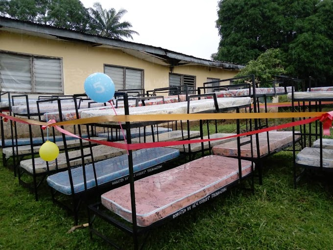 Rev Ogbuji's Foundation donates items worth millions to community and church in Ibil.
