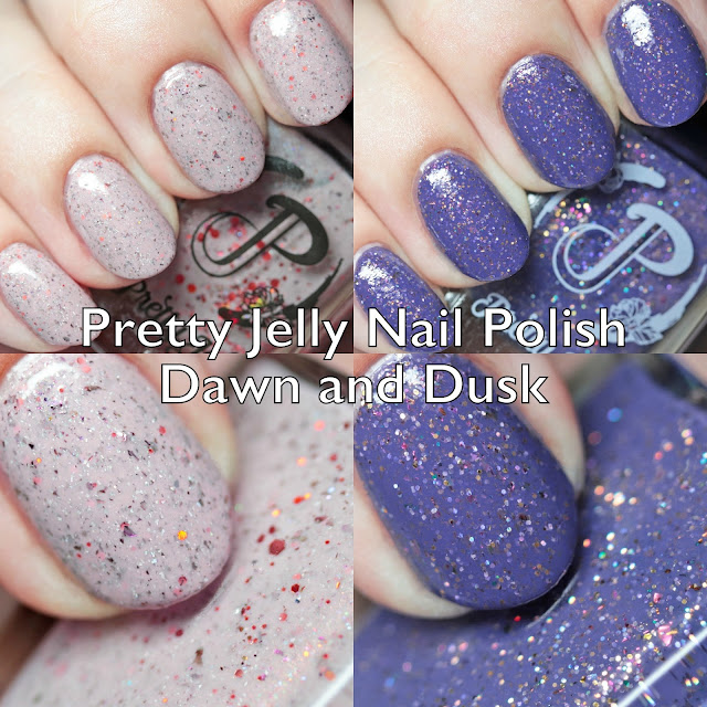 Pretty Jelly Nail Polish Dawn and Dusk