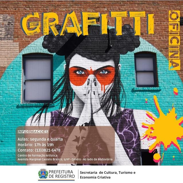 Secretaria de Cultura abre inscrição para cursos e oficinas artísticas
