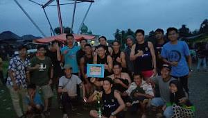 Tim Mengun Jayo Sabet Juara II Open Lomba Pacu Perahu Naga di Bungo