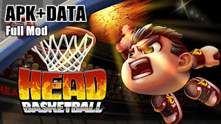 Termasuk genre sport menyerupai sepak bola Download Game Head Basketball MOD APK DATA Unlimited Money