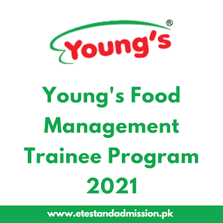 Youngs Food Management Trainee Program 2021