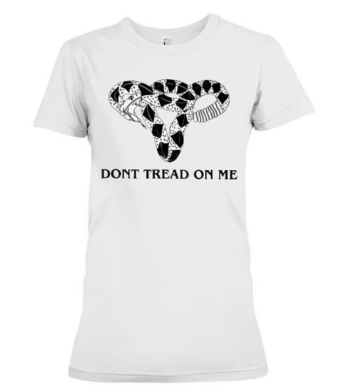 Don't Tread-On Me Uterus T-Shirts Hoodie Sweatshirt