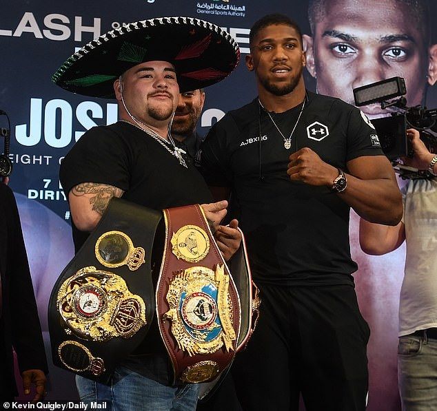 'I Want Everybody To Bow To Me When I Beat Andy Ruiz' - Anthony Joshua