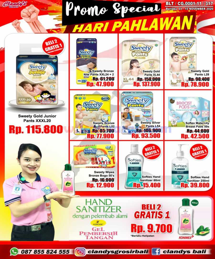 Katalog Promo CLANDYS Mart Dan Grosir 1 - 15 November 2020