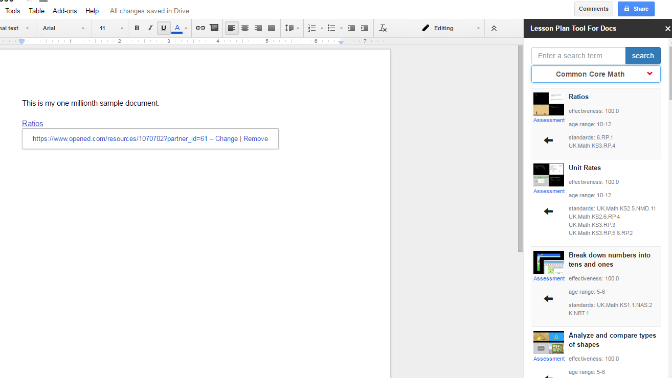 free technology for teachers a new lesson plan tool for google docs