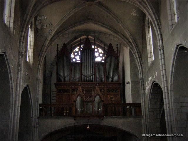 Le grand orgue de Notre-Dame du Marthuret de Riom