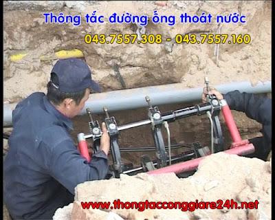Thông tắc đường ống thoát nước chuyên nghiệp,thông cống,thông tắc thoát sàn vệ sinh,hút bể phốt