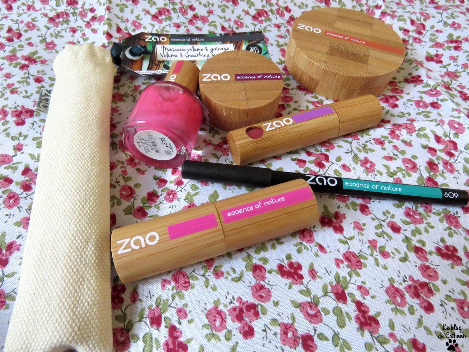 Zao, maquillage 100% naturel, bio et vegan