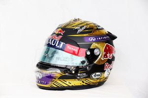 S. Vettel helmet for 72,100 pounds