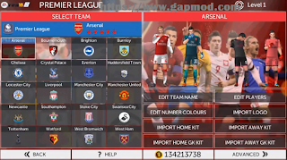 Download FTS Mod WC 2018 Full Europa League Updates Apk Data Obb Android