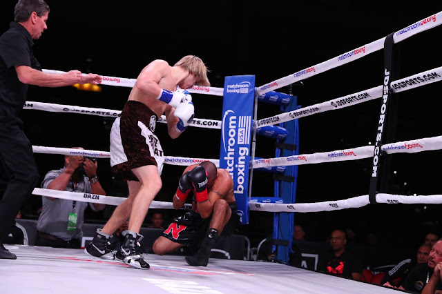 Nikita Ababiy def. Javier Rodriguez by first-round TKO