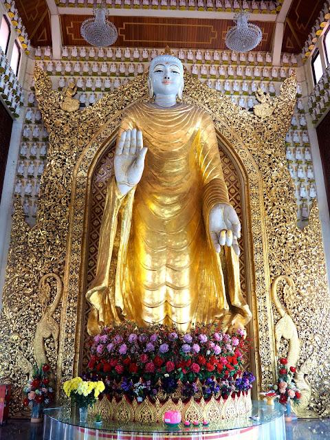 Burmese Buddhist Temple, Penang, Malaysia