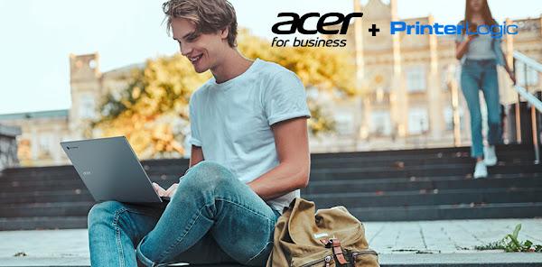 Acer e PrinterLogic oferecem solução de impressão sem servidor baseada na cloud