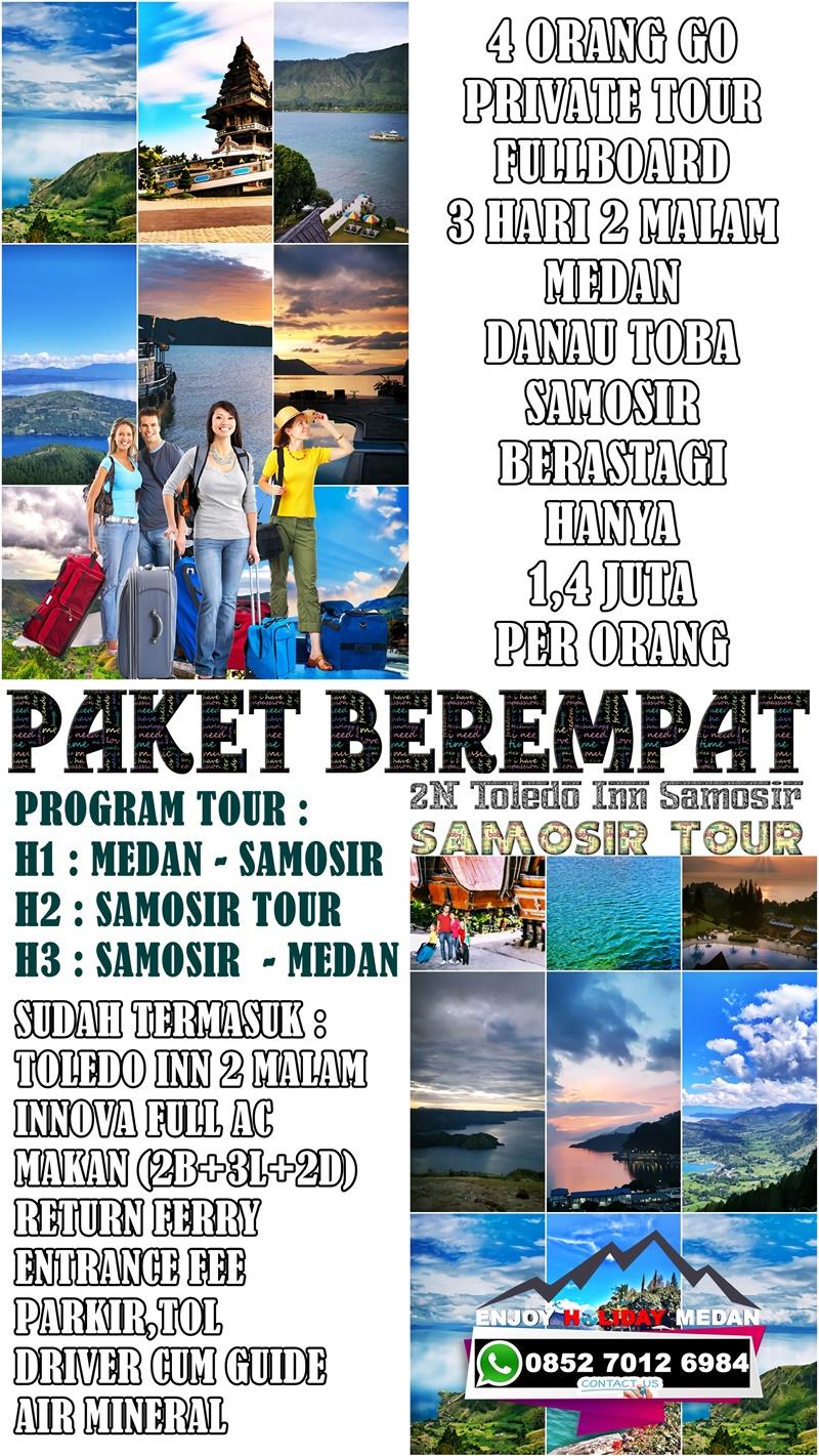 3D2N Medan Lake Toba Tour