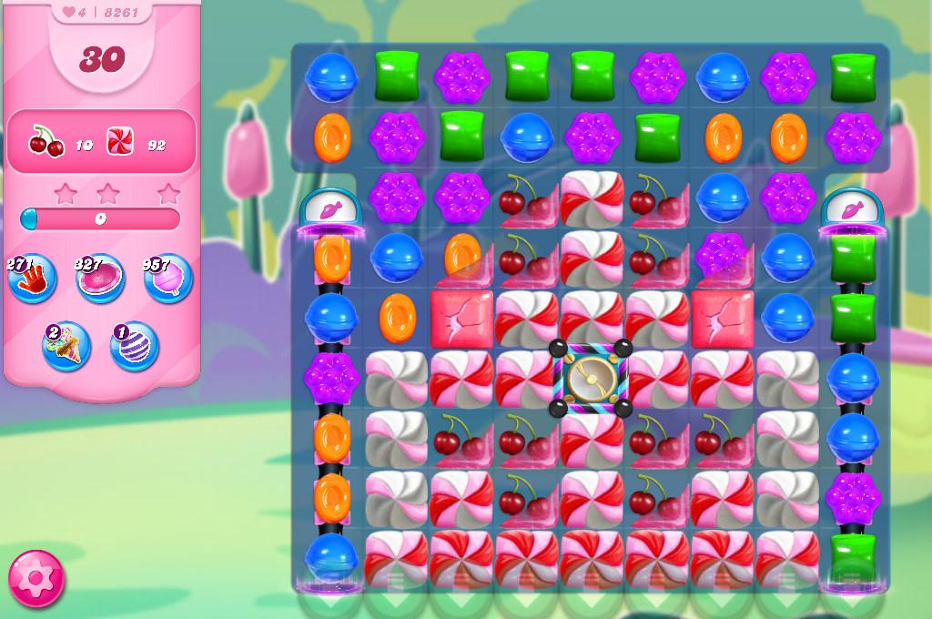 Candy Crush Saga level 8261