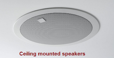 Ceiling mounted Load Speakers