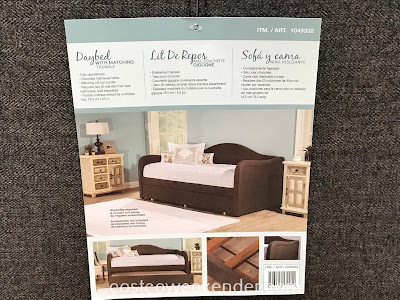 Hillsdale Fabric Daybed with Matching Trundle can easily accommodate two people