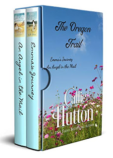Oregon Trail Boxed Set - 2 western historical romances book promotion sites Callie Hutton
