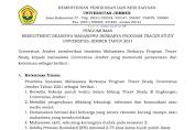 Universitas Jember Lakukan Rekrutmen Beasiswa Tracer Study Tahun 2021