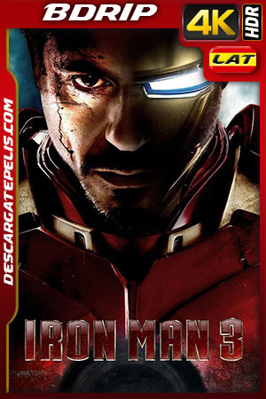 Iron Man 3 2013 4K BDrip Latino – Inglés