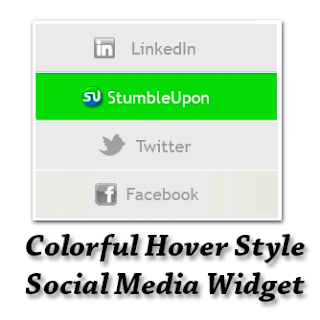 In this tutorial im gonna explicate how to add together Smooth Colorful social media widget for weblog Colorful Hover Style Social Media Widget for Blogger
