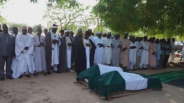 Nigerian soldier killed by Boko Haram laid to rest