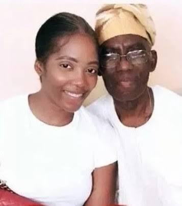 Tiwa Savage's father has died.