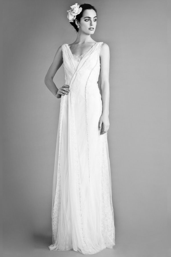 Elegant Wedding Dresses With A Vintage Inspired Feel From Temperley London Fall 2012 Bridal Collection Beatrice