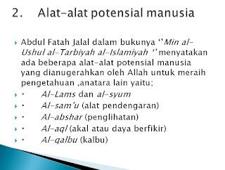 PPT Filsafat Pendidikan Islam (Manusia dan Potensi Pendidikannya)