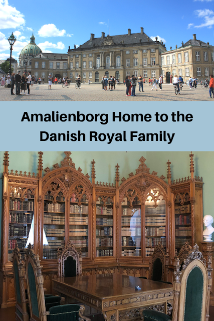Amalienborg Home to the Danish Royal Family