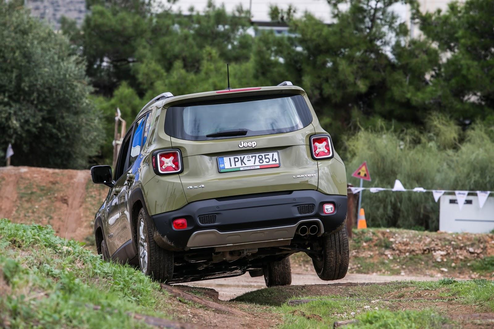 KF 1596 Πετάμε ένα Jeep Renegade σε λάσπες, πέτρες, άμμο, λίμνες. Θα τα καταφέρει; Jeep, Jeep Renegade, Renegade, SUV, TEST, zblog, ΔΟΚΙΜΕΣ