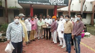भारतीय जनता पार्टी अल्पसंख्यक मोर्चा द्वारा प्रधानमंत्री नरेंद्र मोदी के जन्म उत्सव को सेवा के कार्य कर मनाया गया