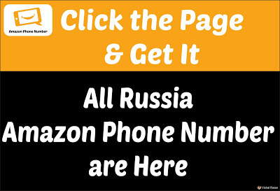 Amazon Phone Number Russia | All Russia Amazon Phone Number Are Here