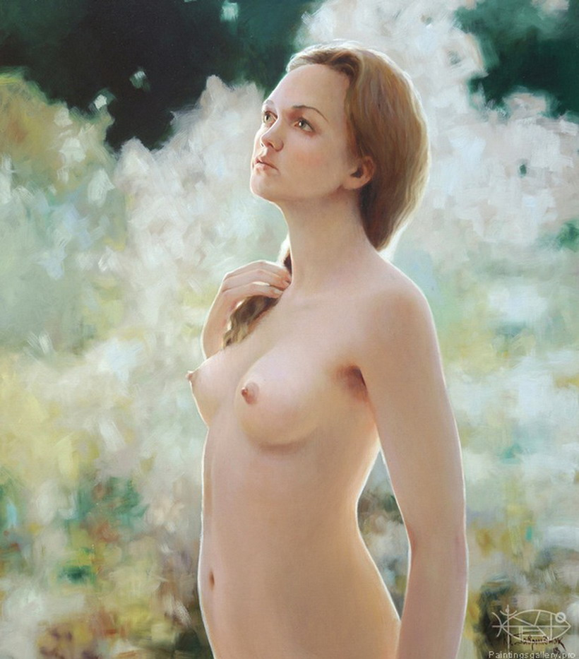 Figura femenina patinador desnudo