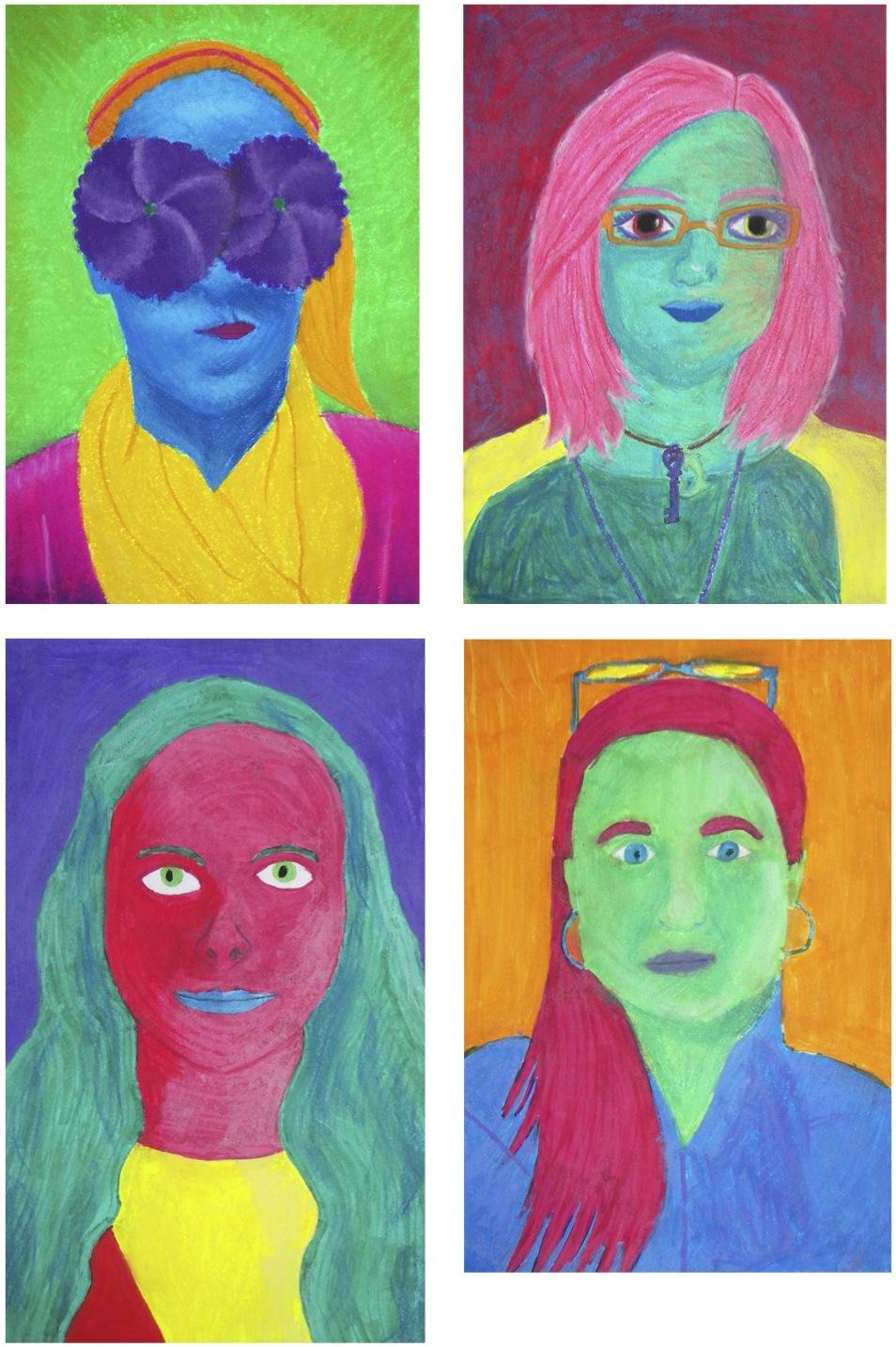 The Rolling Artroom Pop Art Self Portraits 7 12 General Art