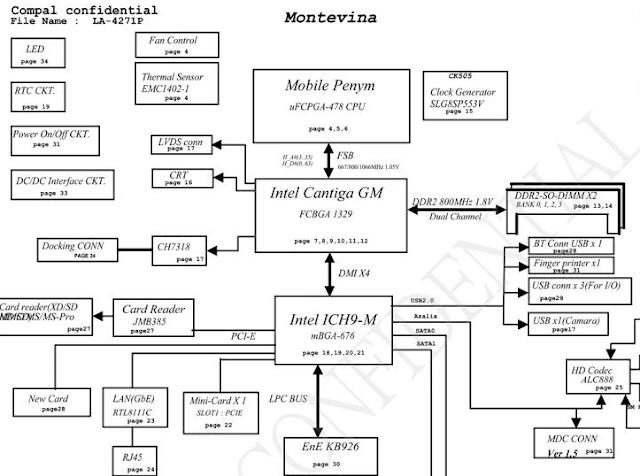 LA-4271P Acer Aspire 2930 Schematic
