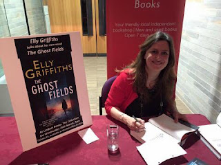 Photo of author Elly Griffiths