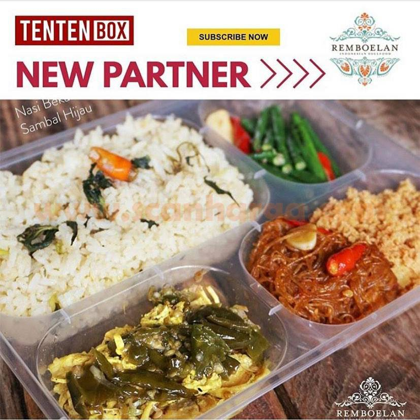 Remboelan Soulfood Promo 5 Menu Makanan mulai Rp 168.000,-