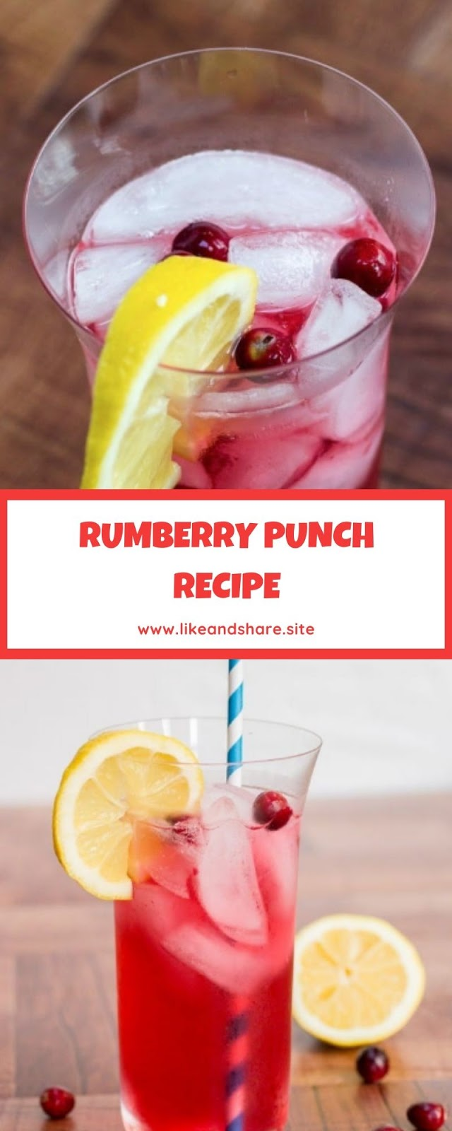 RUMBERRY PUNCH RECIPE