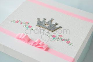 κουτι-ρουχων-βαπτισης-κοριτσι-πριγκιπισσα-κορωνα-λουλουδια-ρομαντικο-χαρτινο-ροζ-πουα