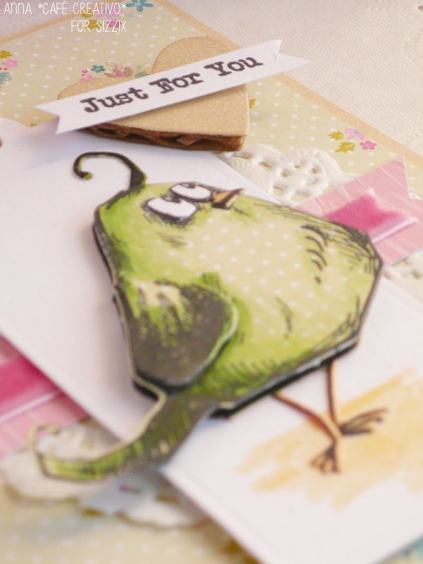 card-Tim-Holtz-Bird-Crazy-timbri-sizzix-big-shot-plus-fustelle