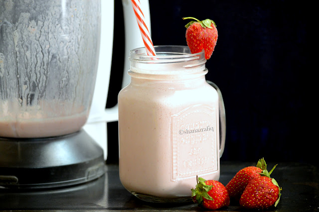 Strawberry Yogurt Drink